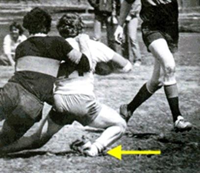 Dr. Strash treats sports injuries